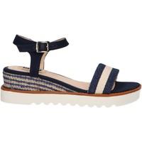 Zapatos Mujer Sandalias MTNG 50526 Azul