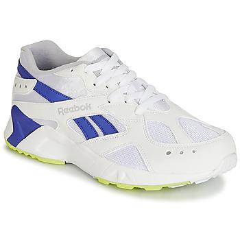 Zapatos Hombre Zapatillas bajas Reebok Classic AZTREK Blanco / Azul