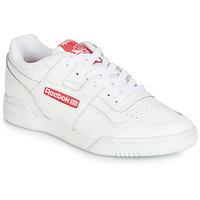 Zapatos Zapatillas bajas Reebok Classic WORKOUT PLUS MU Blanco / Rojo