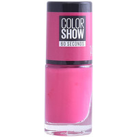Belleza Mujer Esmalte para uñas Maybelline Color Show Nail 60 Seconds 14-showtime Pink 7 ml