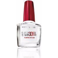 Belleza Mujer Esmalte para uñas Maybelline Superstay Nail 3d Gel Effect Top Coat 10 ml
