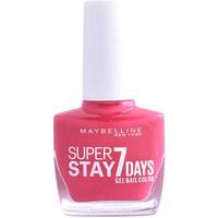Belleza Mujer Esmalte para uñas Maybelline Superstay Nail Gel Color 180-rose Fuchsia 10 ml