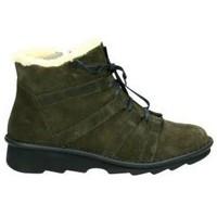 Zapatos Mujer Botas de nieve Relaxshoe Botines  377-019 señora verde Vert