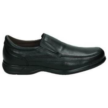Zapatos Hombre Slip on Nuper Zapatos  1965 caballero negro Noir