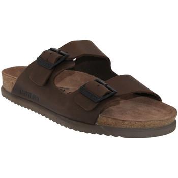 Zapatos Hombre Zuecos (Mules) Mephisto NERIO Cuero marrón