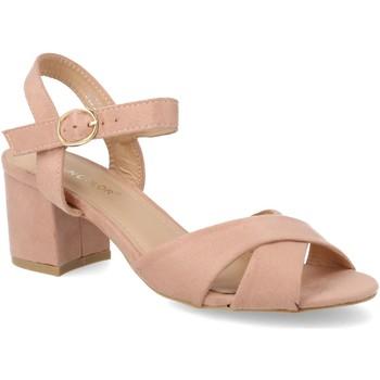 Zapatos Mujer Sandalias Sun Color 9050 Rosa