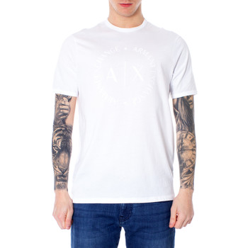 textil Hombre camisetas manga corta Armani Exchange 8NZTCD Z8H4Z Bianco
