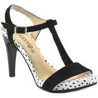 Zapatos Mujer Sandalias Classyco Sandalias de tacón alto by Patricia Miller () Negro