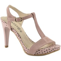 Zapatos Mujer Sandalias Classyco Sandalias de tacón alto by Patricia Miller () Rosa