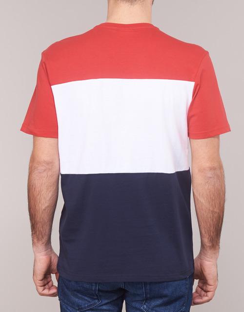 Corta Blanco Fila Camisetas Tee Manga Textil MarinoRojo Hombre Day SMjLUzGqVp