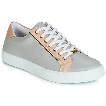 Zapatos Mujer Zapatillas bajas André BERKELITA Gris