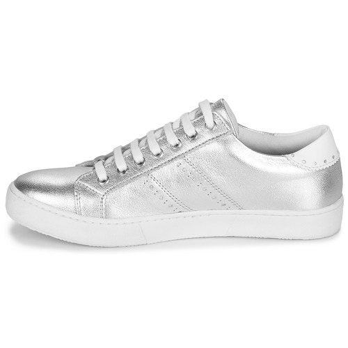 Zapatos Zapatillas Mujer André Bajas Plateado Berkeley gv6Yy7bf