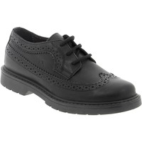Zapatos Niño Derbie Naturino Vitello Nere Negro