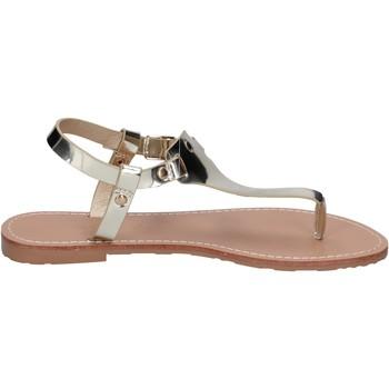 Zapatos Mujer Sandalias Francescomilano sandalias cuero sintético platino