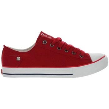 Zapatos Mujer Zapatillas bajas Big Star DD274339 Rojos
