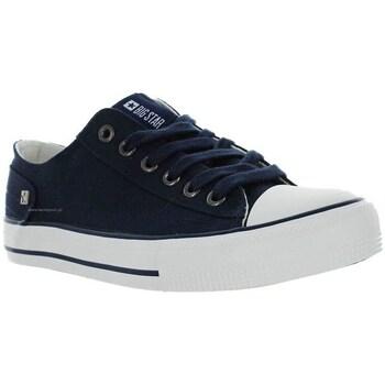 Zapatos Mujer Zapatillas bajas Big Star DD274335 Azul marino