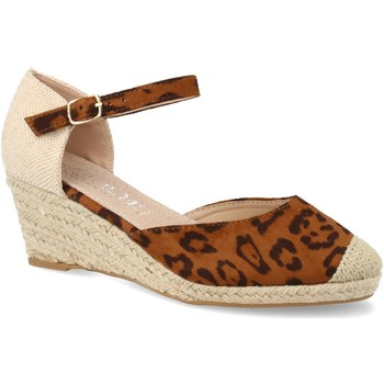 Zapatos Mujer Alpargatas H&d HD-280 Leopardo