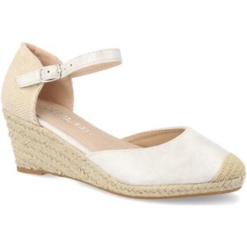Zapatos Mujer Alpargatas H&d HD-280 Plata