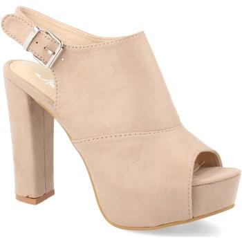 Zapatos Mujer Sandalias Amy Y288-65 Beige