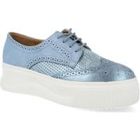 Zapatos Mujer Derbie Sun Color AB685 Azul