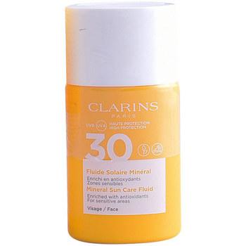 Belleza Mujer Protección solar Clarins Solaire Fluide Minéral  30 ml