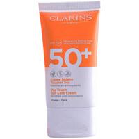 Belleza Mujer Protección solar Clarins Solaire Crème Toucher Sec Spf50  50 ml