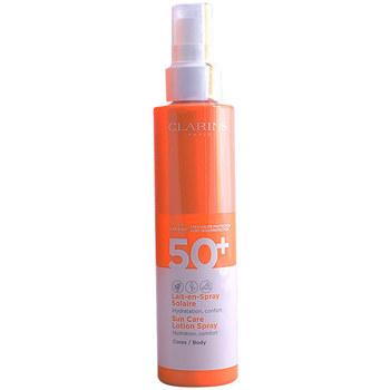 Belleza Mujer Protección solar Clarins Solaire Lait En Spray Spf50  150 ml