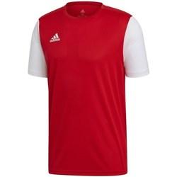 textil Hombre camisetas manga corta adidas Originals Estro 19 Jsy Rojo