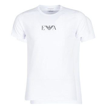 textil Hombre camisetas manga corta Emporio Armani CC715-111267-04712 Blanco