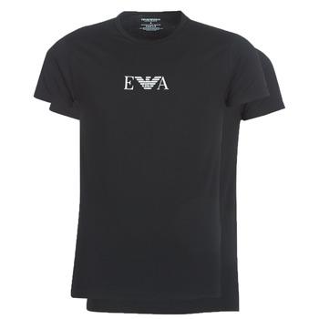 textil Hombre Camisetas manga corta Emporio Armani CC715-111267-07320 Negro