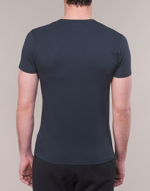 Cc715 27435 Emporio Armani Textil Corta Marino Manga Camisetas Hombre 111267 SpqUzVMG