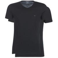 textil Hombre camisetas manga corta Emporio Armani CC722-111648-07320 Negro