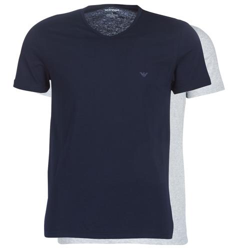 Emporio Armani CC722-111648-15935 Marino / Gris - Envío gratis | ! - textil camisetas manga corta Hombre