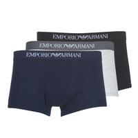 Ropa interior Hombre Boxer Emporio Armani CC722-111610-94235 Marino / Gris / Negro