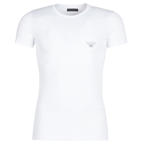 textil Hombre camisetas manga corta Emporio Armani CC716-111035-00010 Blanco