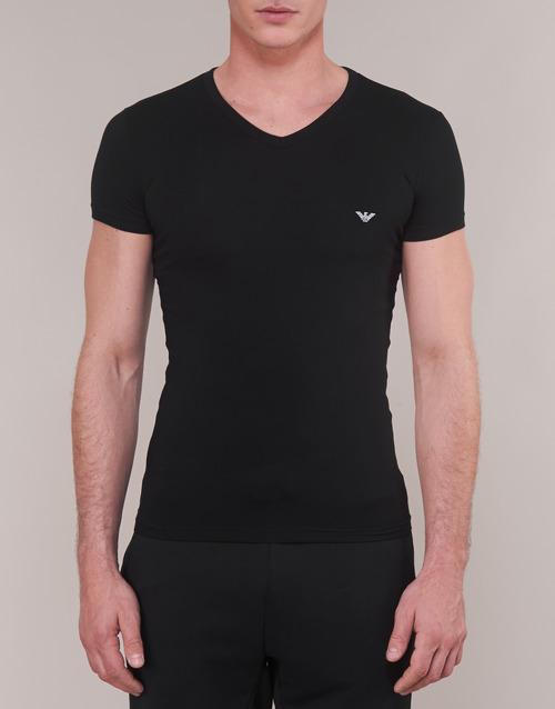 Cc735 Camisetas Manga Textil Emporio Hombre Corta Negro 110810 Armani 00020 SGqUzVLMp