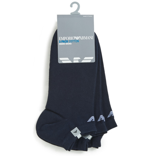Emporio Armani CC134-300008-00035 Marino - Envío gratis | ! - Accesorios Calcetines Hombre