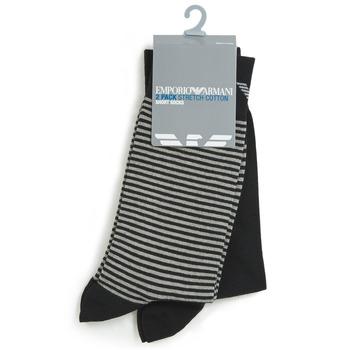 Accesorios textil Hombre Calcetines Emporio Armani CC114-302302-00020 Negro