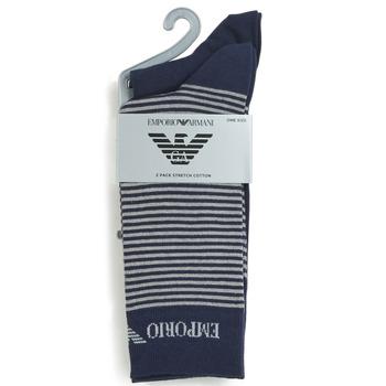 Accesorios textil Hombre Calcetines Emporio Armani CC114-302302-00035 Marino