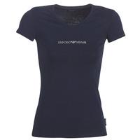 textil Mujer Camisetas manga corta Emporio Armani CC317-163321-00135 Marino