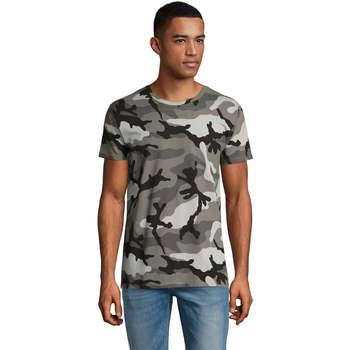 textil Hombre camisetas manga corta Sols CAMO MEN Multicolor