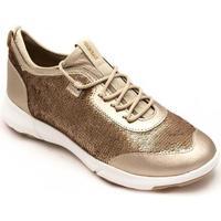 Zapatos Mujer Zapatillas bajas Geox Nebula X A Oro
