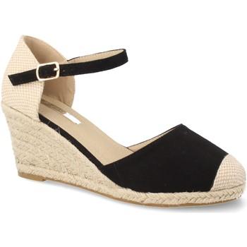 Zapatos Mujer Alpargatas Laik CH921 Negro