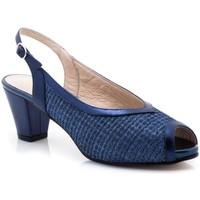 Zapatos Mujer Sandalias Paco Román 19502 Azul