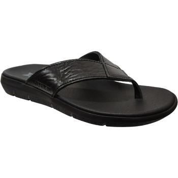 Zapatos Hombre Chanclas Mephisto Charly Cuero negro