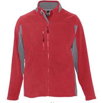 textil Hombre Polaire Sols NORDIC Rojo
