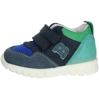 Zapatos Niños Zapatillas altas Balducci CSPORT3305 Azul/Verde
