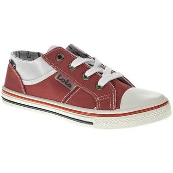 Zapatos Niño Zapatillas bajas Lois 60089 rojo
