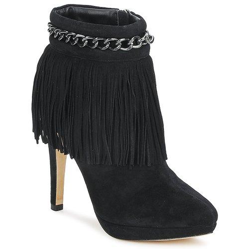 Sandy Mujer Botines Negro Bourne Zapatos ymwPvNO8n0