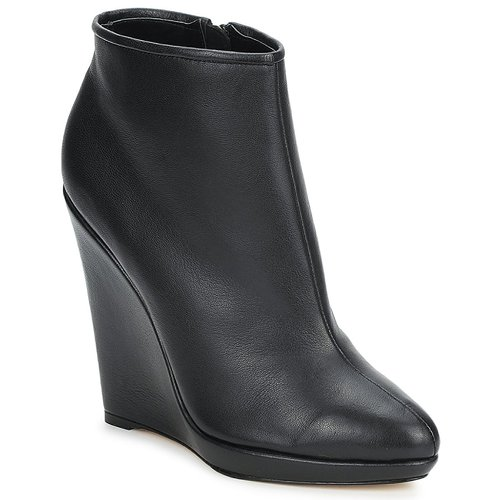 Zapatos Mujer Low boots Bourne FONATOL Negro